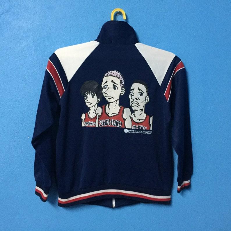 Rarevintage 90s slam dunk shohoku sweater nice design size M  4b8c1e198