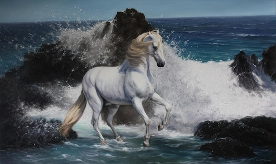Horse and sea W...