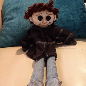 Wybie Doll From Coraline Movie Etsy