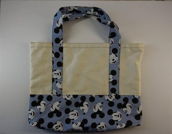 0cda1a48ba Custom made Disney Mickey Mouse Tote Bag Classic Mickey