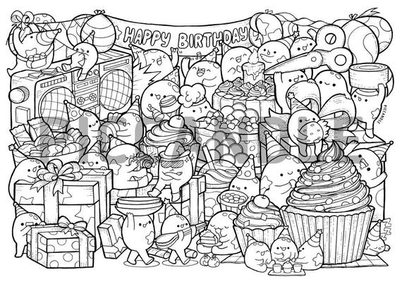 happy birthday america coloring pages - photo#41