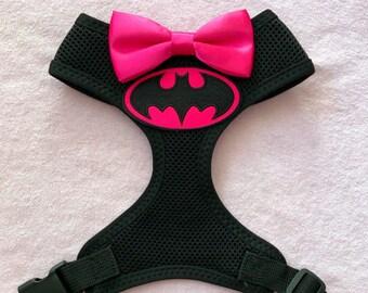 9424c03a2d72 Black batgirl dog harness