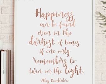 Happiness Quote Art Etsy