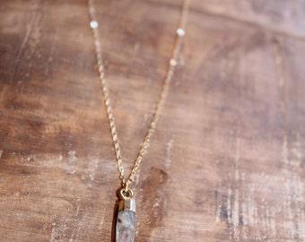 Quartz Spike Necklace