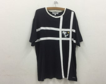 a69fc5e60e7 Vintage 90  ICEBERG PEANUTS Embroidered Tshirt Sz Medium Made in Italy