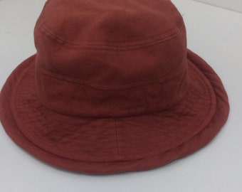 419295ad Stunning MOSCHINO Italian Designer Bucket Hat Sz 57cm Made in Japan