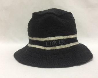 2b20a7b6c09bb Vintage EDWIN Bucket Hat Sz 59cm Made in Japan