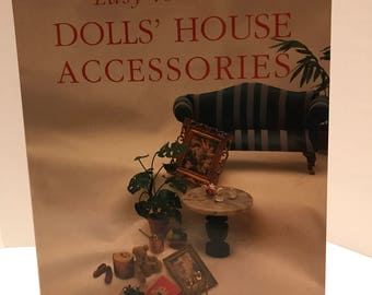Easy to Make Doll House Accessories by Andrea Barham