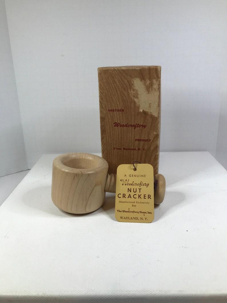 Woodcroftery Nutcracker In Original Box Wood Nutcracker French Design NC6 Wood Nutcracker In Original Box