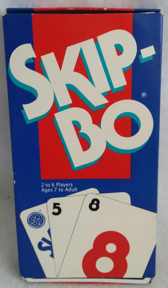 Skip Bo International Games Inc 1995 Complete Set With Etsy