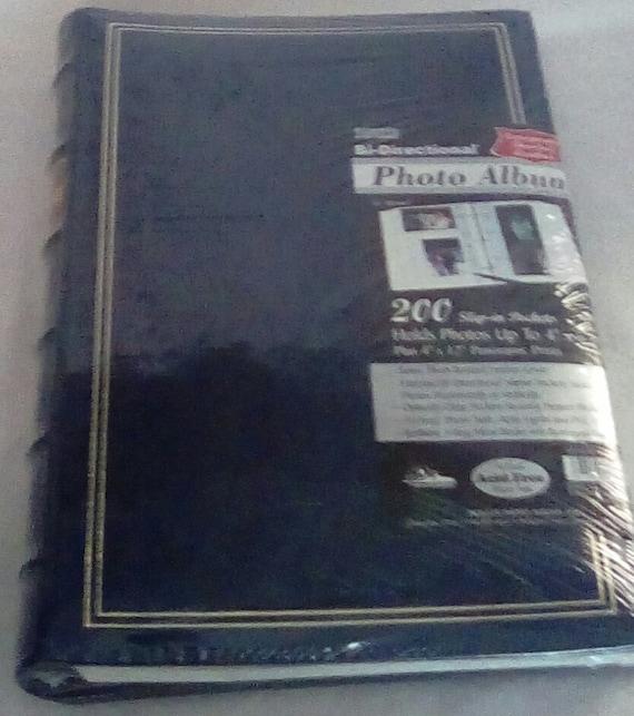 Pioneer Bi Directional Photo Album 200 Slip In Pockets Holds Etsy