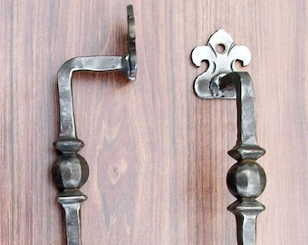 Wrought Iron Handmade Door Handle
