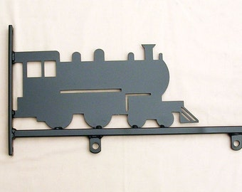 Hanging sign with Train Motif