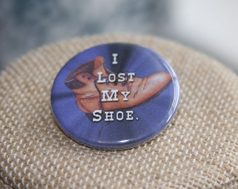 Supernatural I Lost My Shoe Button, Supernatural I Lost My Shoe Pin