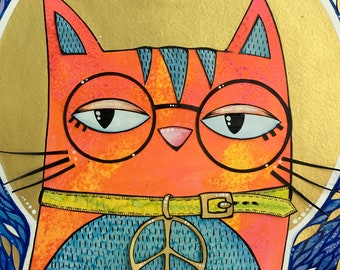 Saint Cat: Peace