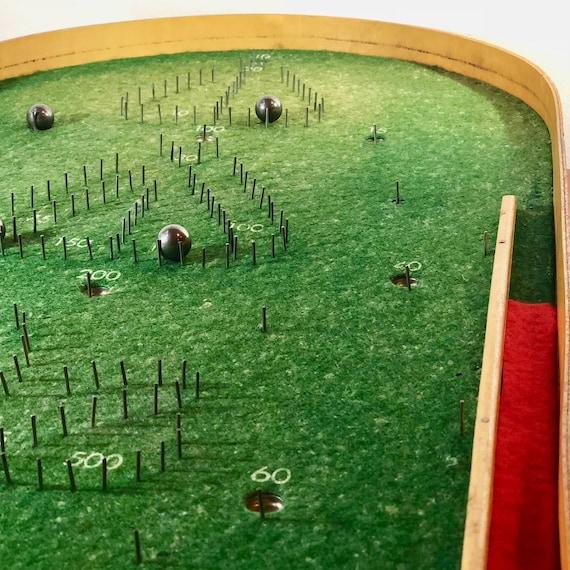 FRAIS de port dans le monde entier - flipper de Table jeu pour n'importe quel jour de pluie de Kährs, Suède - 1940