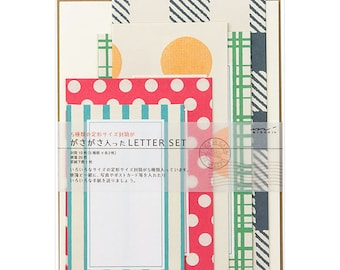 Envelope letter set, Midori envelope set, Xmas card making, Decorative envelopes, Christmas decorative card, Japanese stationery