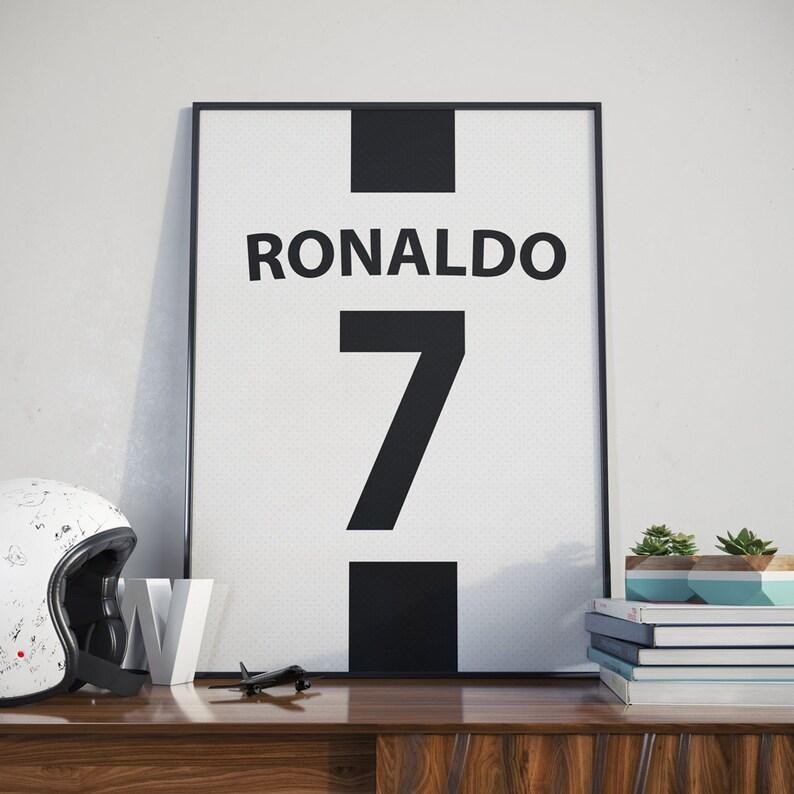 250be22b4f6 Ronaldo Printable Poster Ronaldo Jersey Ronaldo Juventus | Etsy