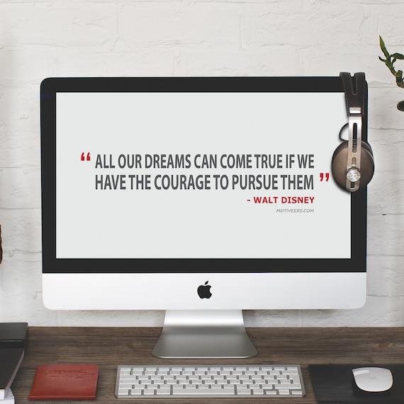 Walt Disney Quote Desktop Wallpaper Computer Background