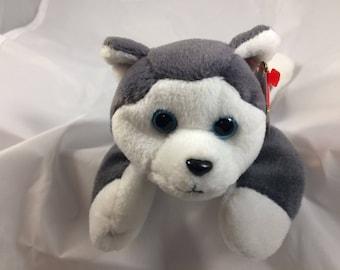 a86eb250022 Ty Beanie Baby Nanook the Sled Dog Original MWT Style 4104 November 21