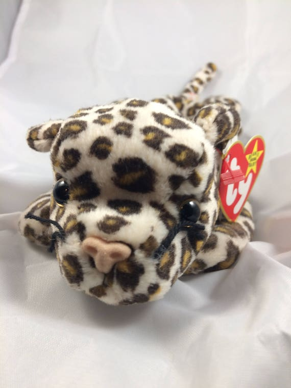 Ty Beanie Baby Freckles the Leopard Original MWT Style 4066  47f8d07546ec