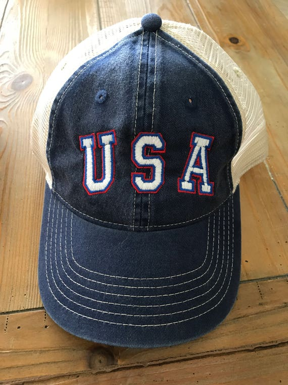 USA Trucker Forth of July 4th of July  Independence Day Comfort Colors Hat