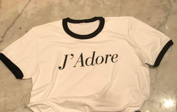 J Adore Love T shirt