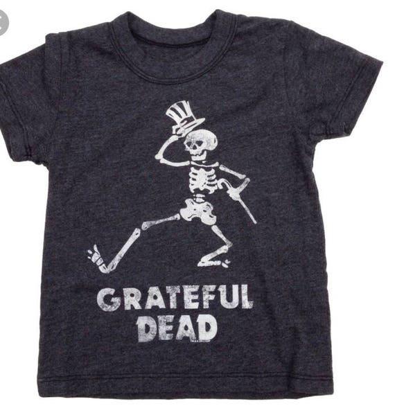 Grateful Dead Dancing Skeleton Black Soft unisex T Shirt Dead and Company