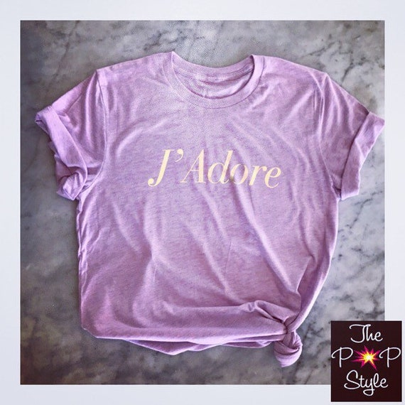 J'Adore Ringsoun Lavender and Gold unisex T Shirt