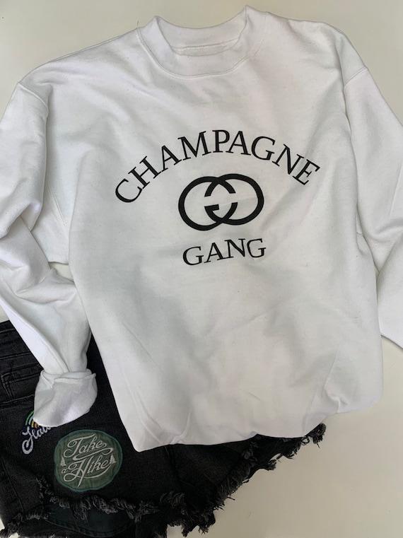 Champagne Gang shirt ,  Brunch Sweatshirt , bride shirt , girls trip shirt