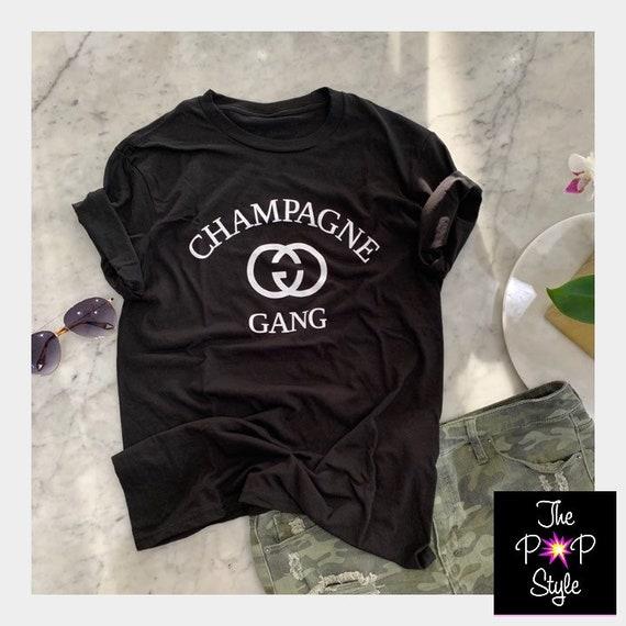 Champagne Gang T Shirt , Girls Who Brunch , Girls Trip Shirt,  LuvyMode