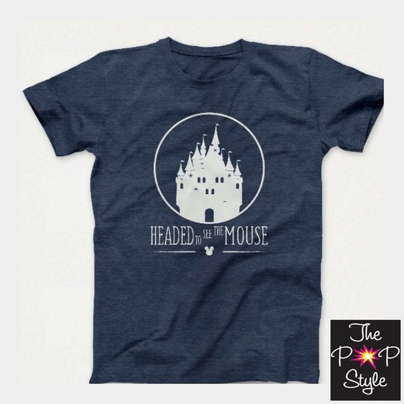 Headed to the Mouse Disney World Land Family Trip T Shirt unisex youth to adult