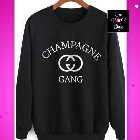 Champagne Gang unisex Sweatshirt Pullover GG CG , for your Favorite Champs
