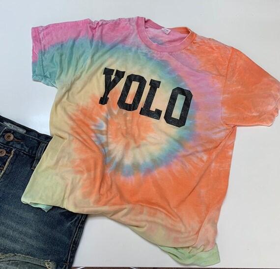YOLO Festival Shirt , TIE DYE Shirt ,  Woidstock Music Shirt , Coachelle Concert Shirt