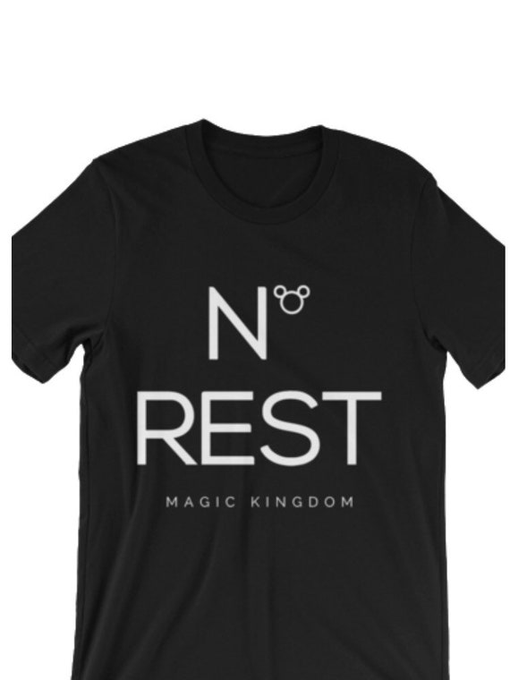 No Rest Disney World Family Trip T shirt Family Vacation