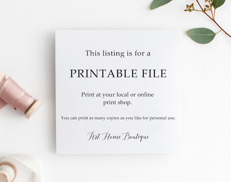 W720 Floral Folded Thanks Card Thank You Cards Ivory Red Gold Thank You Card Instant Download Thank You Notes