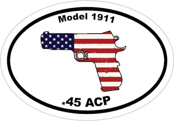 "American Flag with Rifile AK-47 Custom Car Decal Sticker 9/"" x 14/"""