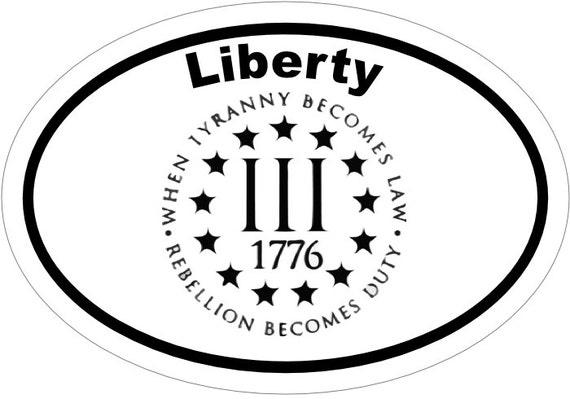 TRUMP LAW /& ORDER 2nd AMENDMENT GUNS AMERICAN FLAG 2020 CIRCLE DECAL STICKER