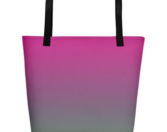 Multi-color Gradient Spring Summer Beach Bag