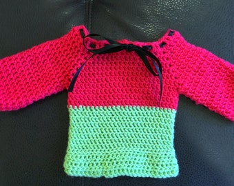 Watermelon inspired jumper