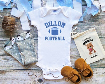 Dillon Football Panthers Baby Onesie Shirt 97758fa1d