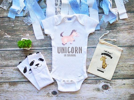 4d9e80c247bb Unicorn In Training Onesies® Shirt Infant Clothes Cute