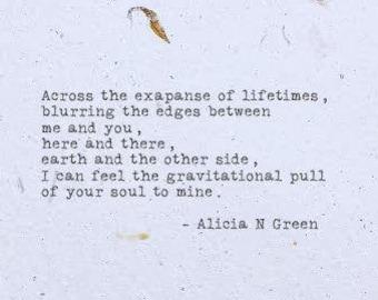 Soulmate Poem Etsy