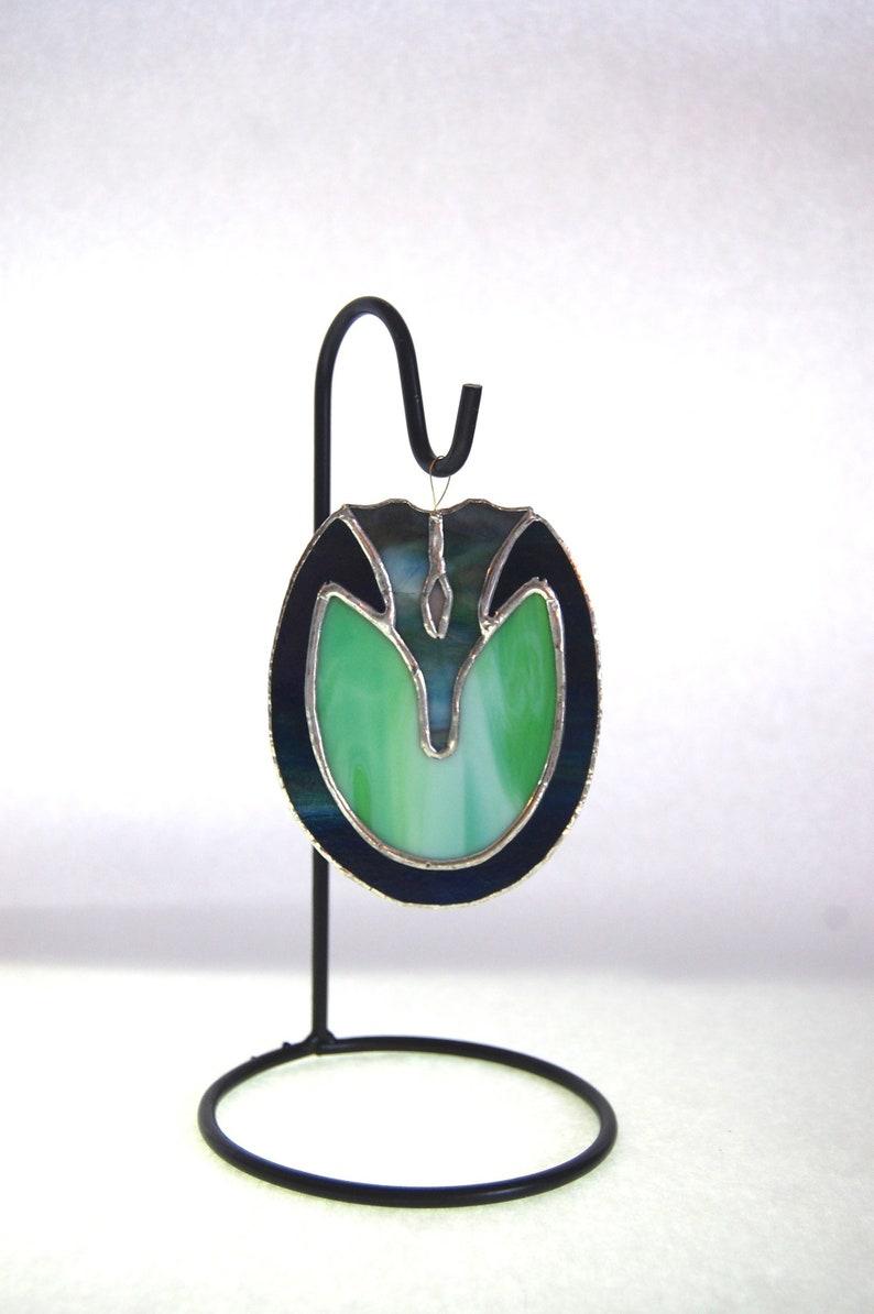 Green /& Blue Barefoot Hoof Art for Farriers  Stained Glass Horse Hoof Barefoot Glass Hoof Ornament Horse Hoof Art  Horse Ornament