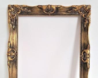 Vintage Wood Frame Etsy