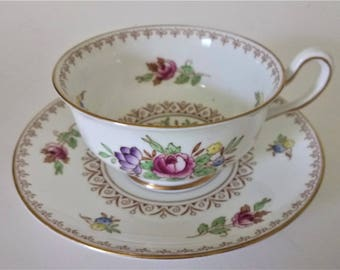 Vintage Royal Chelsea Cup And Saucer Fine Bone China Pattern 3854A
