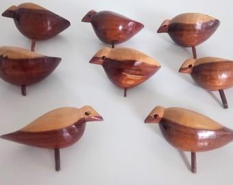 8 Mid Century Danish Birds