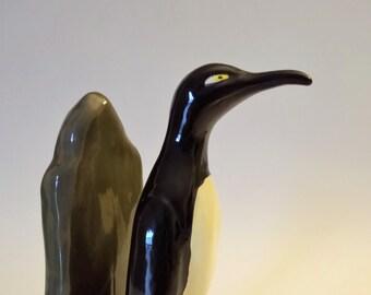 Penguin Figurine Vintage Porcelain Figurine