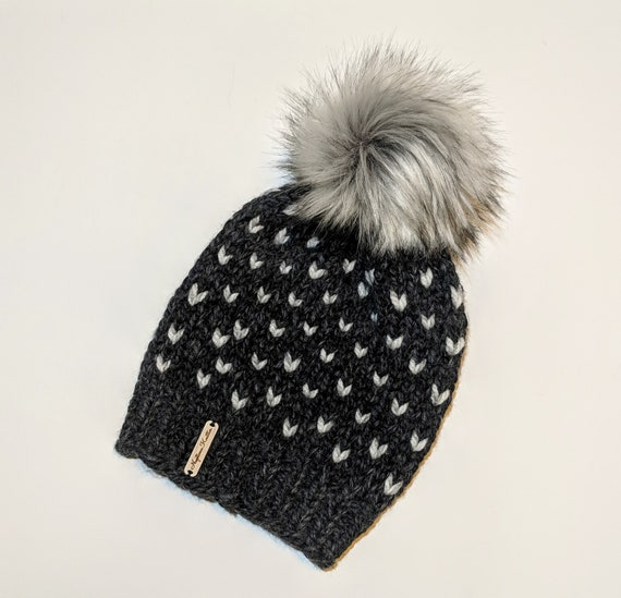READY TO SHIP winter hat for women Chunky knit hat  f1bf9e95aa8c