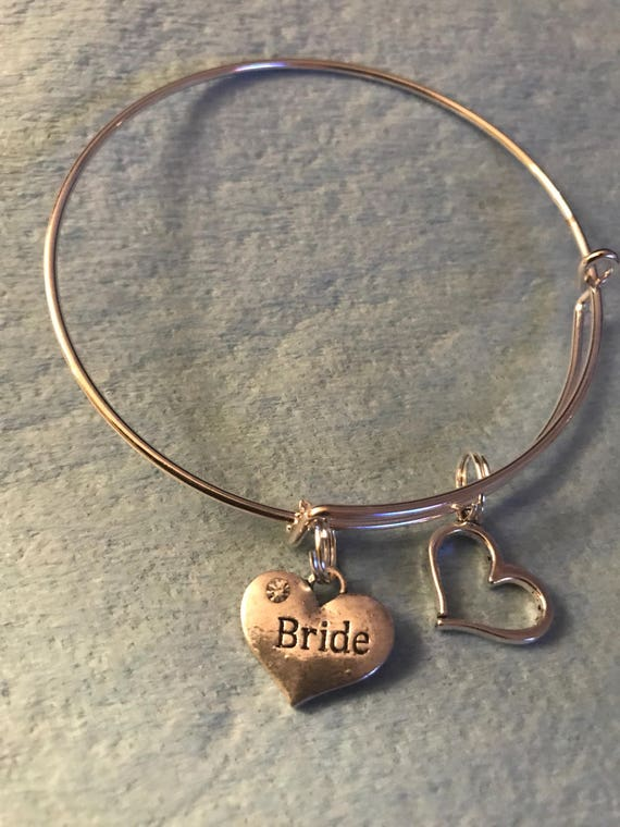 Bride Charm Bangle - buy any  3 or more get 1 free